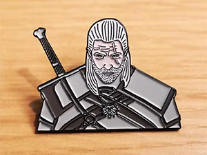 The Witcher Enamel Pin Geralt Of Rivia