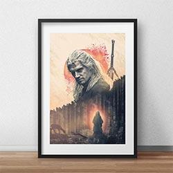 The Witcher Geralt Of Rivia Netflix Tv Show Poster