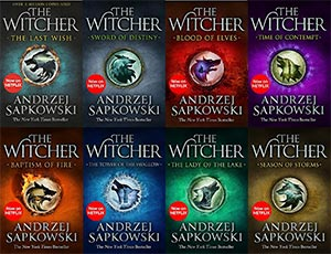 The Witcher Series 8 Book Collection Andrzej Sapkowski