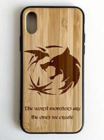 The Witcher Wood Phone Case