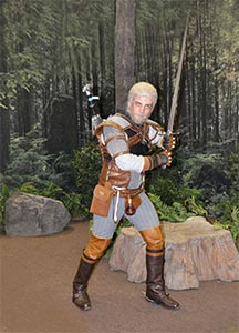 Theatrical Quality Witcher 3 Geralt Of Rivia Custom Costume