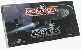 Usaopoly – Star Trek Monopoly The Next Generation Collector's Edition