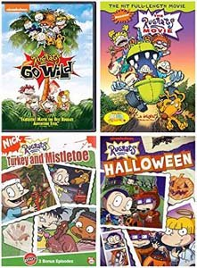 Ultimate Rugrats 4 Volume Collection The Rugrats Movie Rugrats Go Wild Halloween Turkey And Mistletoe
