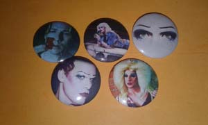 Various Hedwig Pins