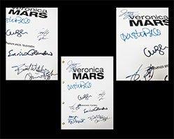 Veronica Mars Pilot Script Reprint With Autographs