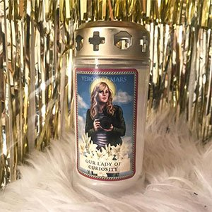 Veronica Mars Prayer Candle