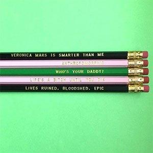 Veronica Mars Sayings Pencils