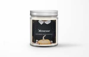 Wednesday Scented Candle