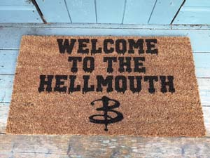 Welcome To The Hellmouth Doormat