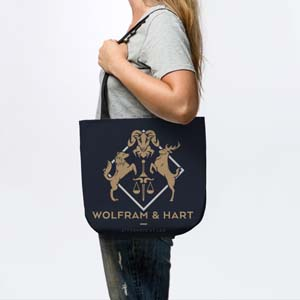Wolfram And Hart Tote Bag