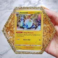 Custom Pokemon Card Coasters