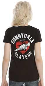 Sunnydale Slayers Womans Tshirt