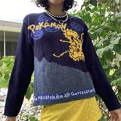 Vintage Pokemon Sweater