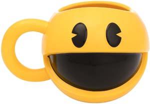 16 Oz. Sculpted Ceramic Pac Man Mug
