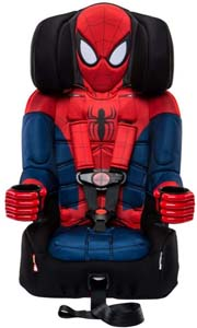 2 In 1 Harness Booster Spiderman Car Seat