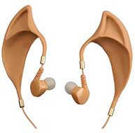 Anovos Vulcan Earbuds With Inline Remote And Mic From Star Trek