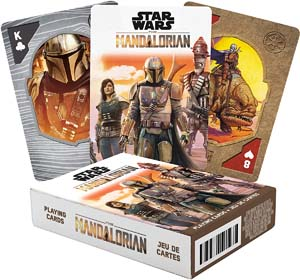 Aquarius Star Wars Playing Cards The Mandalorian Themed Deck Of Cards