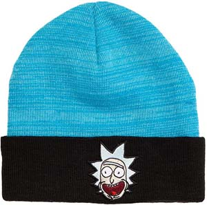 Adult Beanie With Rick Face