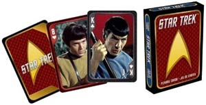 Aquarius Star Trek Playing Cards