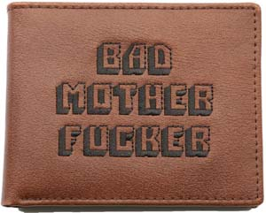 Bad Mother Fucker Embroidered Wallet From Pulp Fiction