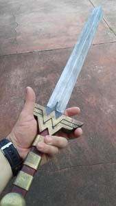 Battledamage Wonder Woman Sword Prop