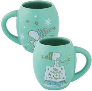 Beautiful Be Marry & Bright Green Snoopy Mug