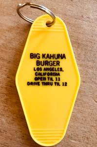 Big Kahuna Burger Keychain