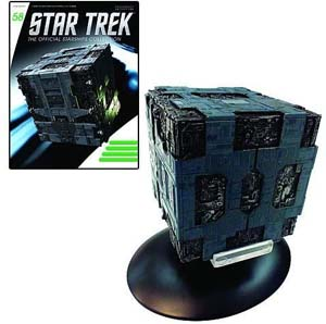 Borg Tactical Cube Die Cast Vehicle With Collector Magazine