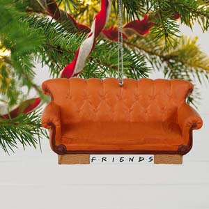 Central Perk Couch Christmas Ornament