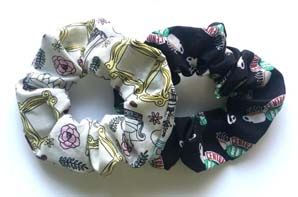 Central Perk Scrunchie From Friends Tv Show