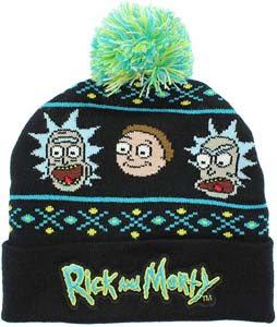 Cool Rick & Morty Beanie