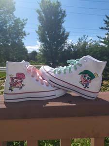 Cosmo & Wanda Custom Converse