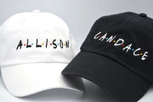Custom Friends Tv Show Hat