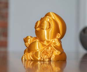 Cute Morty Inspired Buddha Statue