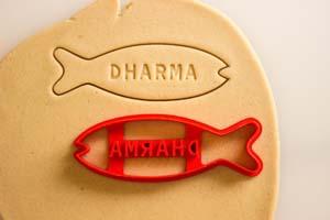 Dharma Initiative Fish Biscuit Cookie Cutter