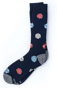 Dnd Novelty Crew Dress Socks
