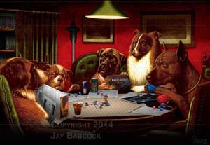 Dogs Playing Dandd