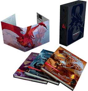 Dungeons And Dragons Core Rulebooks Gift Set