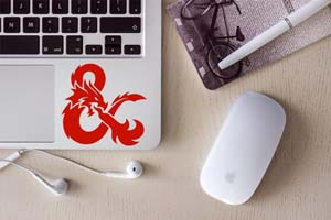 Dungeons And Dragons Decal Vinyl Sticker