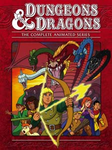 Dungeons And Dragons The Complete Animated Dvd Series