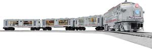 Electric & Bluetooth U.s.s Enterprise Ft Diesel Locomotive