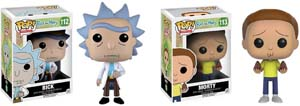 Funko Pop! Rick & Morty Action Figures