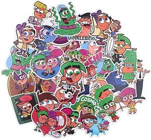 Fairly Odd Parents Assorted Vinyl Sticker Pack