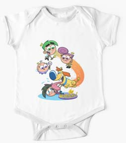 Fairly Odd Parents Baby Onesie