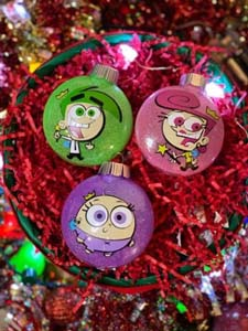 Fairly Odd Parents Christmas Ornaments