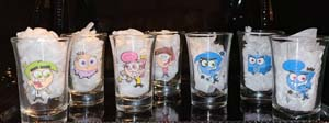 Fairly Odd Parents Shot Glasses