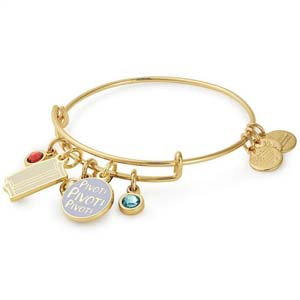 Friends Couch And Pivot Cluster Charm Bangle