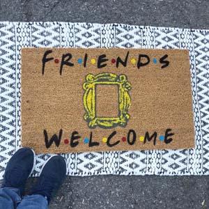 Friends Doormat Welcome Mat Funny Tv Show