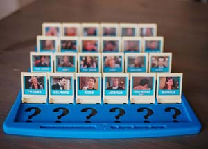 Friends Guess Who Game