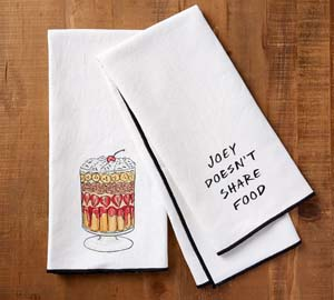 Friends Kitchen Towels Joey Doesn't Share Food